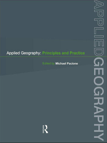 Applied Geography Principles and Practice book cover