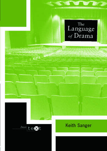 The Language of Drama book cover