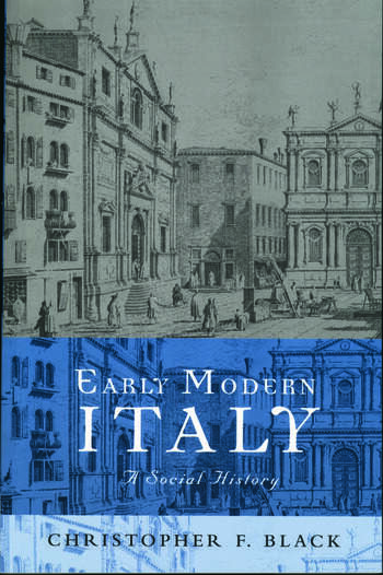 Early Modern Italy A Social History book cover