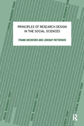 Principles of Research Design in the Social Sciences book cover