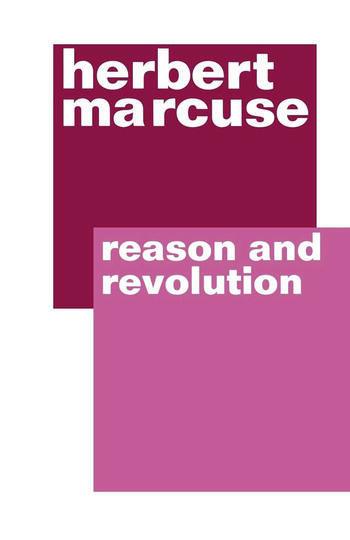 Reason and Revolution book cover