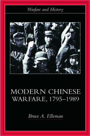 Modern Chinese Warfare, 1795-1989 book cover