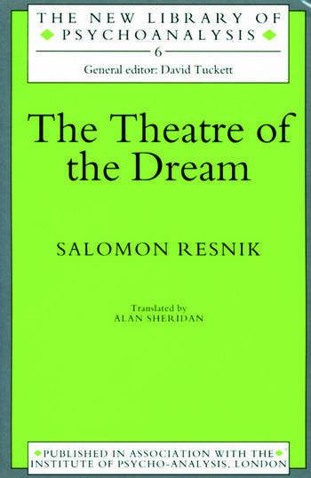 The Theatre of the Dream book cover
