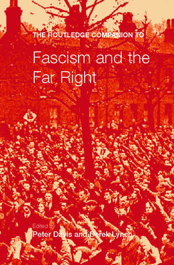 The Routledge Companion to Fascism and the Far Right book cover