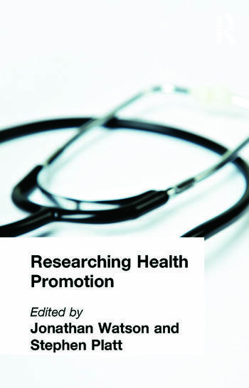 Researching Health Promotion book cover
