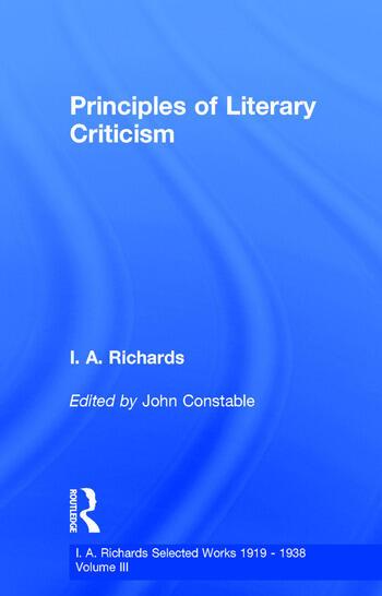 Princ Literary Criticism V3 book cover