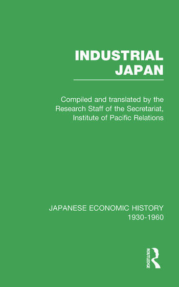 Industrial Japan V 4 book cover