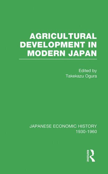 Agricult Dev Modern Japan V 6 book cover