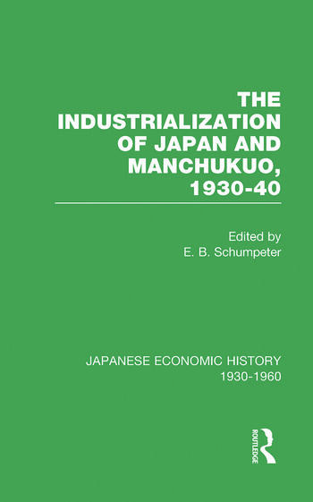 Indust Japan&Manchukuo V 8 book cover