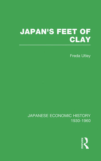Japans Feet Of Clay V 9 book cover