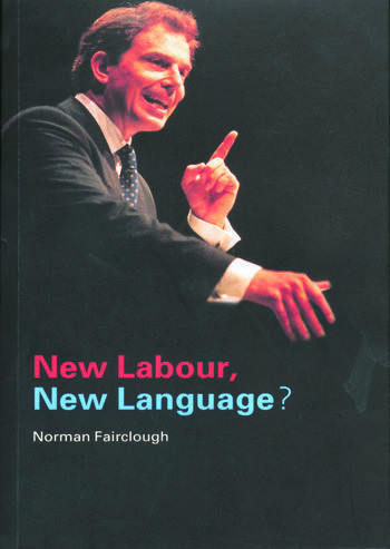 New Labour, New Language? book cover
