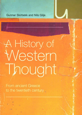 A History of Western Thought From Ancient Greece to the Twentieth Century book cover