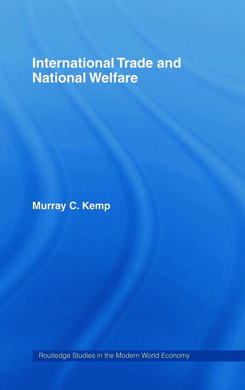 International Trade and National Welfare book cover