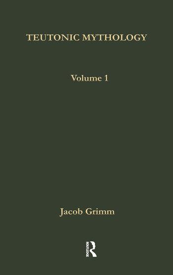 Teutonic Mythology 1880-88 book cover