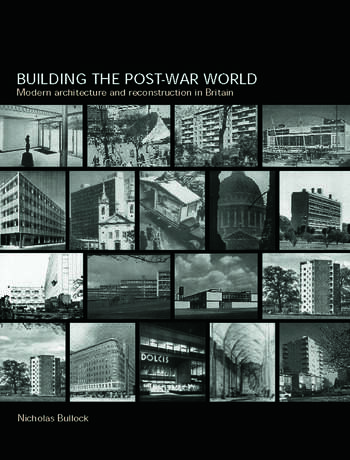 Building the Post-War World book cover