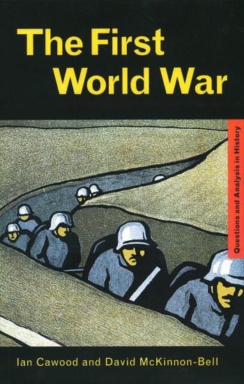 The First World War book cover