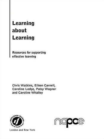 Learning about Learning Resources for Supporting Effective Learning book cover