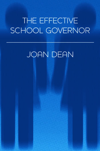 The Effective School Governor book cover