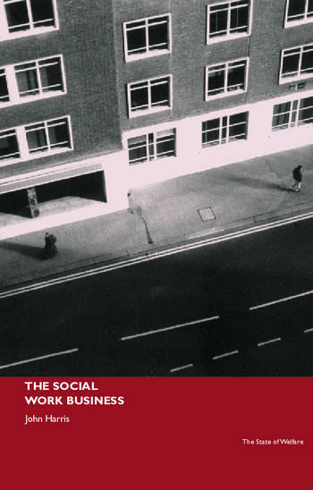The Social Work Business book cover