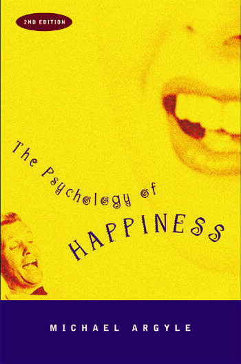The Psychology of Happiness book cover