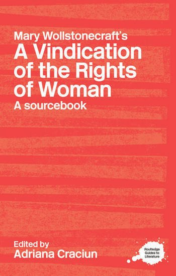 Mary Wollstonecraft's A Vindication of the Rights of Woman A Sourcebook book cover