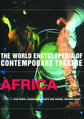 World Encyclopedia of Contemporary Theatre Africa book cover