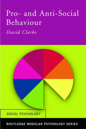Pro-Social and Anti-Social Behaviour book cover
