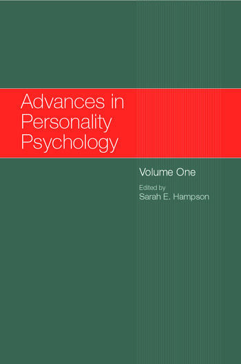 Advances in Personality Psychology Volume 1 book cover