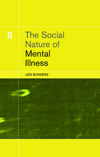 The Social Nature of Mental Illness book cover