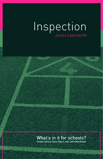 Inspection What's In It for Schools? book cover