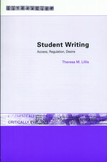Student Writing Access, Regulation, Desire book cover