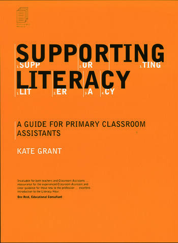 Supporting Literacy A Guide for Primary Classroom Assistants book cover