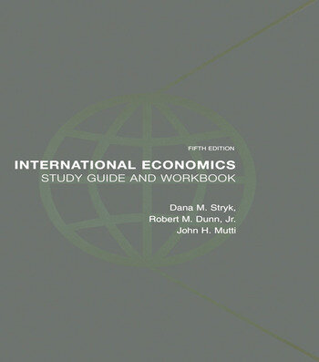 International Economics Study Guide and Workbook book cover