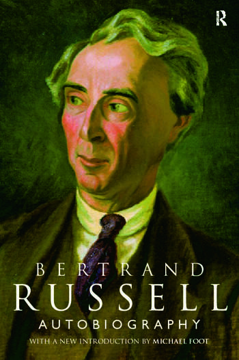 The Autobiography of Bertrand Russell book cover