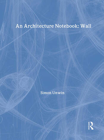An Architecture Notebook book cover