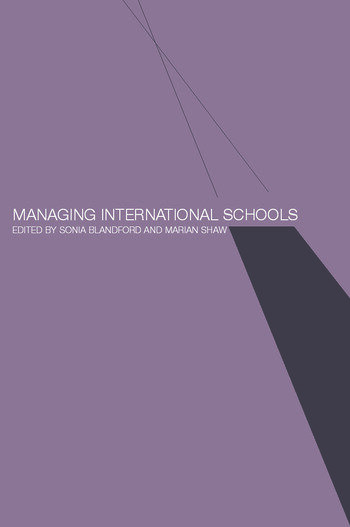 Managing International Schools book cover
