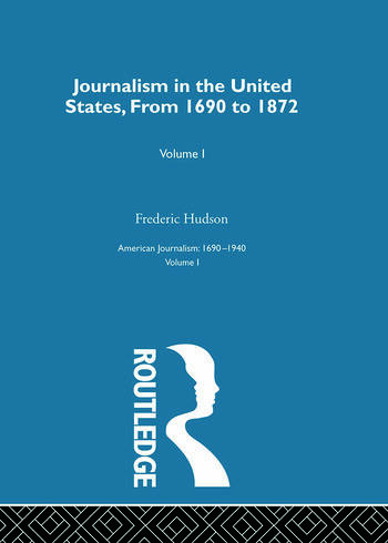 Journalism United States Pt1 book cover