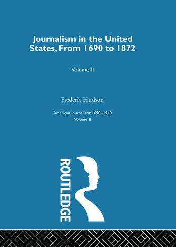 Journalism United States Pt2 book cover