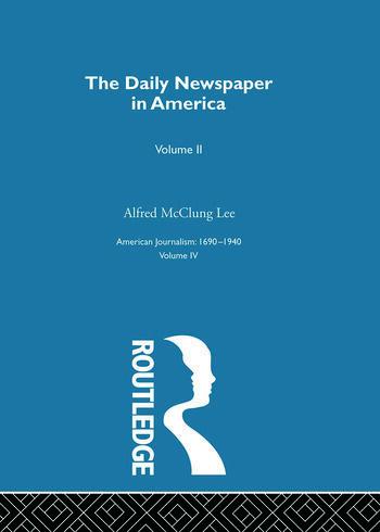 Daily Newspaper America Pt2 book cover