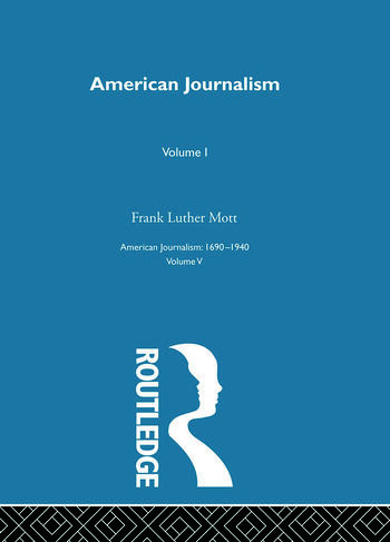 American Journalism Pt1 book cover