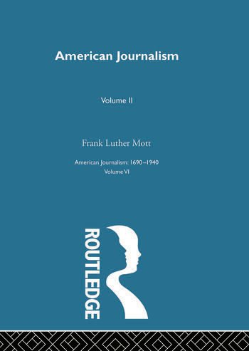 American Journalism Pt2 book cover