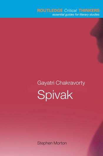 Gayatri Chakravorty Spivak book cover