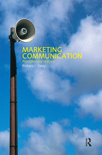 Marketing Communication A Critical Introduction book cover