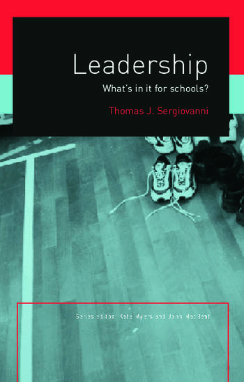 Leadership What's In It For Schools? book cover