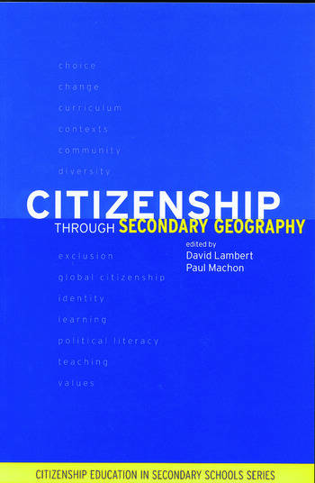 Citizenship Through Secondary Geography book cover