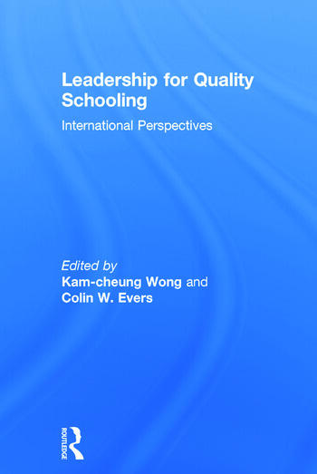Leadership for Quality Schooling book cover