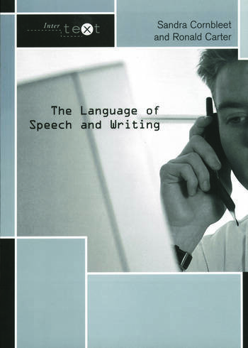 The Language of Speech and Writing book cover