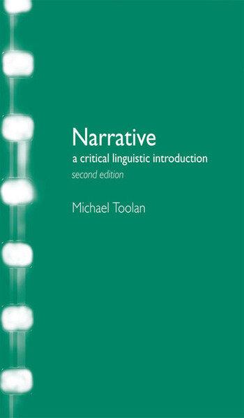 Narrative A Critical Linguistic Introduction book cover