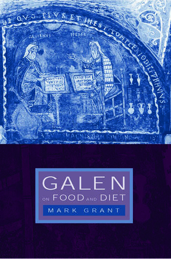 Galen on Food and Diet book cover