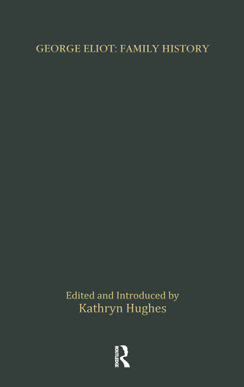 George Eliot: Family History book cover